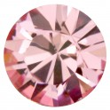 Strass rond pointu en cristal Swarovski 8mm LIGHT ROSE (x8)