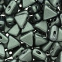 Perles Khéops® par Puca® 6mm metallic mat dark forest (x10g)
