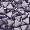 Perles Khéops® par Puca® 6mm metallic mat purple (x10g)