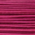 Fil nylon câblé 0,38mm rose intense satiné (x10m)