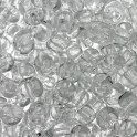 Perles de rocaille 4mm incolore transparent (x20g)