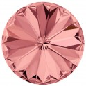 Rivoli 1122 cristal Swarovski 14mm Blush Rose - silver foiled (x1)