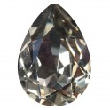 Cabochon 4320 cristal Swarovski 10x14mm Black Diamond (x1)