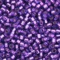 Perles Miyuki Delicas 11/0 DB1345 Silver Lined Bright Violet Dyed (x5g)