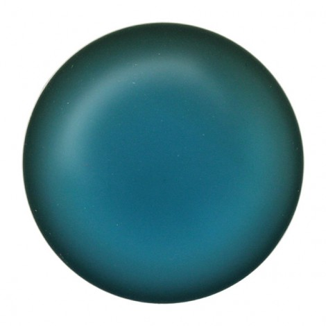 Cabochon rond Luna Soft 24mm Denim Blue (x1)