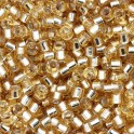 Perles Miyuki Delicas 11/0 DB0042 Gold Silver Lined (x5g)