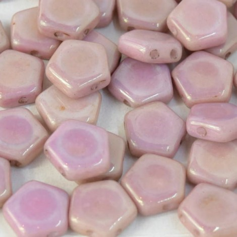Perles Pego 3x10mm Baby Pink Luster (x25)