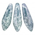 Perles Dague 5x16mm Teracota Blue (x20)