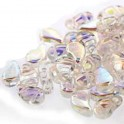 Perles Paisley Duo 6x9mm Crystal AB (x10g)