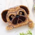 Kit Abris Art - broderie en perles - Broche Carlin (x1)