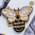Kit Abris Art - broderie en perles - Broche Abeille (x1)