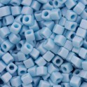 Cubes Miyuki 1,8mm CB0413FR Opaque Turquoise Blue Matted AB (x10g)