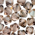Perles toupie cristal Swarovski 4mm light peach satin (x50)