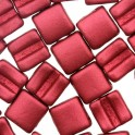 Fixer Bead HORIZONTAL 7x8mm LAVA RED (x5g)