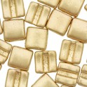Fixer Bead HORIZONTAL 7x8mm AZTEC GOLD (x5g)