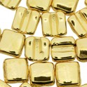 Fixer Bead HORIZONTAL 7x8mm GOLD PLATED (x5g)