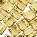 Fixer Bead VERTICAL 7x8mm GOLD PLATED (x5g)