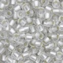 Perles de rocaille 11/0 TOHO 21F Silver Lined Frosted Crystal (x10g)