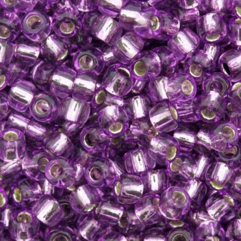 Perles de rocaille 11/0 TOHO 2219 Silver Lined Light Grape (x10g)