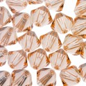 Perles toupie cristal Swarovski 3mm light peach (x50)