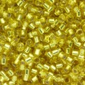 Perles Miyuki Delicas 11/0 DB0145 Silver Lined Yellow (x5g)