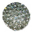 Bouton Strass Rond [Crystal]
